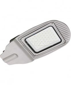50W pilkas gatvės LED šviestuvas V-TAC SMD