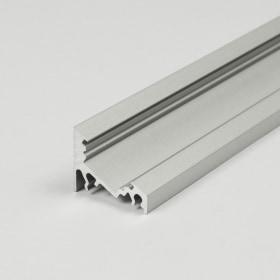 1m LED juostos profilio CORNER10, anoduotas