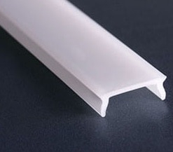 1m LED profilio STOS-ALU dangtelis (baltas)