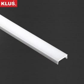 1m  Linger22 LED profilio dangtelis (baltas) KLIK (KOZEL, KOZUS)