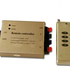 RGB juostos valdiklis V-TAC 12A RADIO (4 mygtukai)