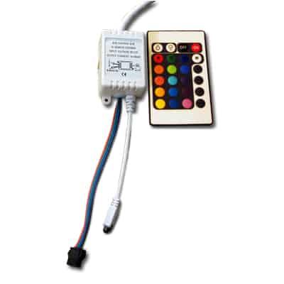 RGB juostos valdiklis 6A (16 mygtukai)