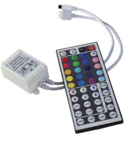 RGB juostos valdiklis 6A (44 mygtukai)
