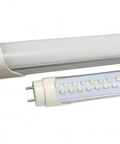 10W LED lempa T8 V-TAC 60cm, stikliniu dangteliu (Šviesos spalva: 6000K)