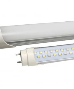 10W LED lempa T8 V-TAC 60cm, stikliniu dangteliu (Šviesos spalva: 3000K)