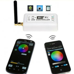 LED RGB juostos valdiklis, valdomas WI-FI
