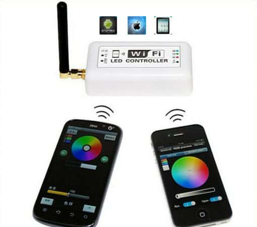 LED juostos valdiklis V-TAC, valdomas WI-FI