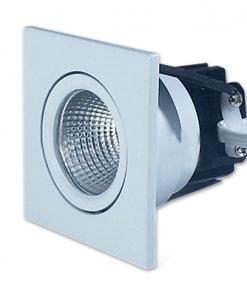 3W įmontuojamas kvadratinis baltas LED šviestuvas V-TAC