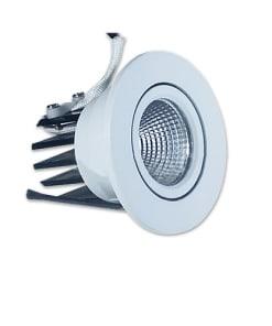 3W įmontuojamas apvalus LED šviestuvas COB V-TAC