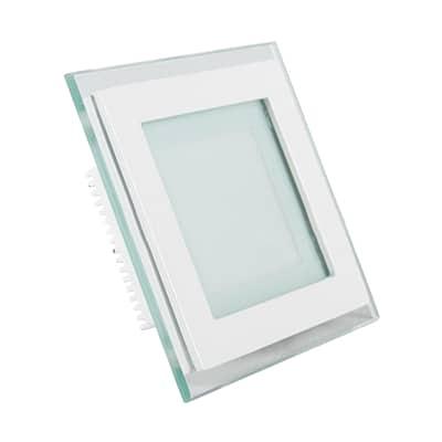 12W kvadratinė įmontuojama keičiamos šviesos spalvos LED panelė V-TAC