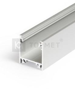 LED juostos profilis TOPMET LINEA20, anoduotas-1m