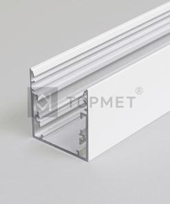 1m LED juostos profilio PHIL53, baltas