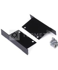 LED juostos profilio PHIL užbaigimo elementas, juodas