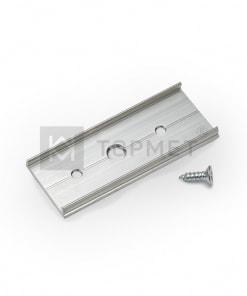 LED juostos profilio sujungimo elementas T, neanoduotas aliuminis