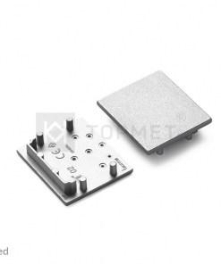 LED juostos profilio VARIO30-02 užbaigimo elementas, sidabrinis
