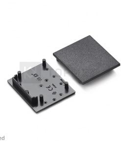 LED juostos profilio VARIO30-03 užbaigimo elementas, juodas