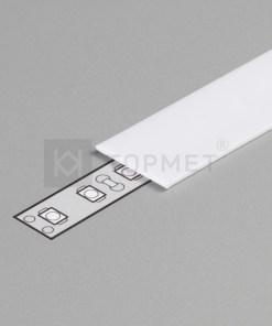 LED juostos profilio dangtelis B, 1m, (baltas)