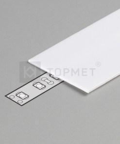 1m LED juostos profilio dangtelis G, baltas
