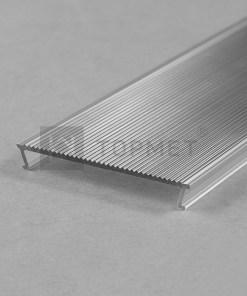 1m LED juostos profilio dangtelis difuzorius C10 NARROW