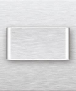 0.6W kvadratinis įmontuojamas LED švietuvas MAGIC DUO šviečiantis šaltai balta šviesos spalva