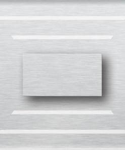 0.6W įmontuojamas LED švietuvas CRISTAL 12V šaltai balta šviesos spalva
