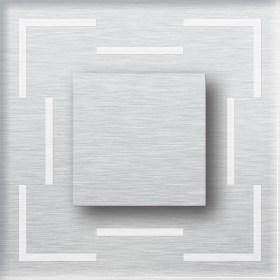 0.6W įmontuojamas LED švietuvas CRISTAL 12V 6000K šaltai balta šviesos spalva