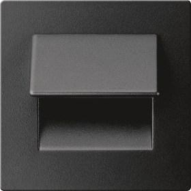 0.3W drėgmei atsparus juodos spalvos įmontuojamas LED švietuvas LIVE 3000K šiltai balta šviesos spalva