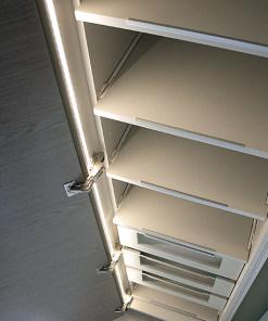 Aliuminio LED profilis KLUS MICRO spintoje