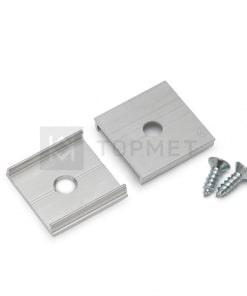LED juostos profilio tvirtinimo elementas T (neanoduotas aliuminis)