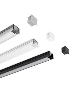 Aliuminio profilis KLUS PDS-4 (anoduotas)