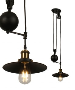 Pakabinamas šviestuvas su reguliuojamo ilgio laidu V-TAC