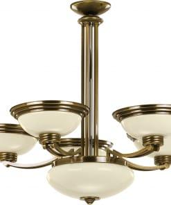 Šešių lempų lubinis pakabinamas šviestuvas FORUM