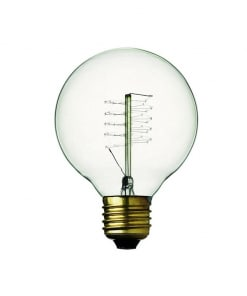25W Kaitrinė lemputė GLOBE DE LUXE