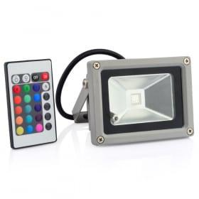 10W LED prožektorius V-TAC su nuotoliniu infraraudonųjų spindulių pulteliu