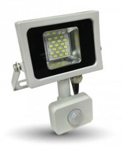 10W LED prožektorius V-TAC SLIM su judesio davikliu SMD
