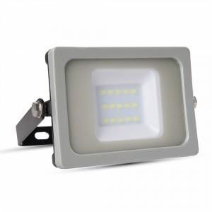 10W LED prožektorius V-TAC SLIM su SMD LED (įvairios spalvos)