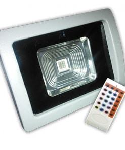 10W LED prožektorius V-TAC PREMIUM EPISTAR Reflector RGB su nuotoliniu valdymu radio bangomis
