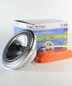 15W LED lemputė AR111 220V(3000K)