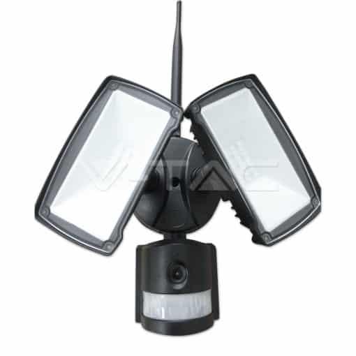 18W LED prožektorius su judesio davikliu