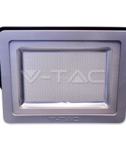 200W pilkai juodas LED prožektorius V-TAC