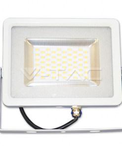 20W baltas LED prožektorius V-TAC SLIM Cable