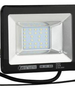 20W LED prožektorius HOROZ šviečiantis šiltai balta šviesos spalva