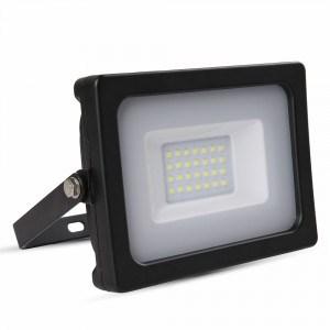 20W LED prožektorius V-TAC SLIM su SMD LED (įvairios spalvos)