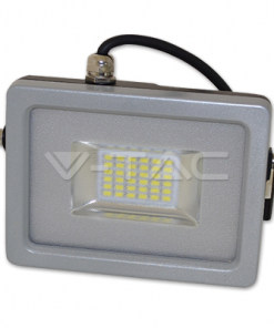 20W pilkai juodas LED prožektorius V-TAC cable A+ energijos klasė