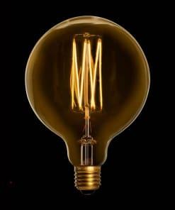 4W Dimeriuojama LED lemputė MEGA EDISON GOLD