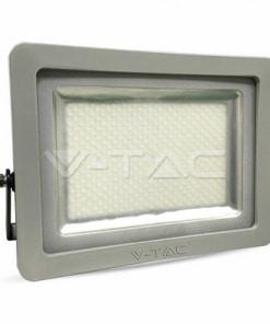 300W pilkai juodas LED prožektorius V-TAC A+ energijos klasė