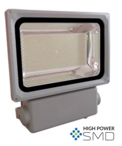 300W pilkas LED prožektorius V-TAC PREMIUM 6000K