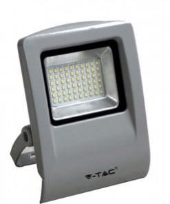30W pilkas LED prožektorius V-TAC  A+ energijos klase