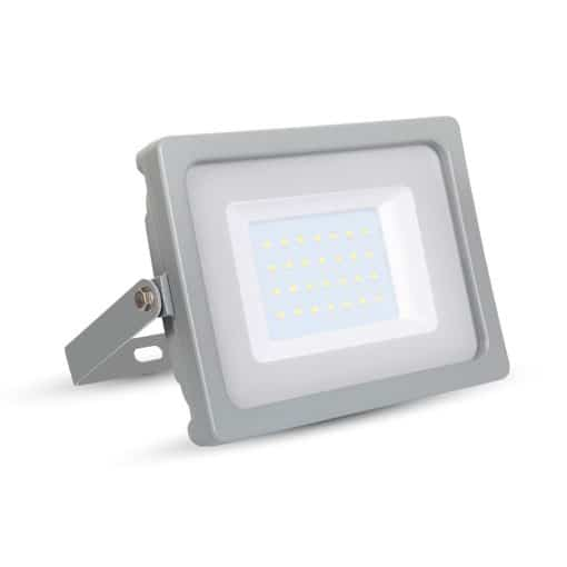 30W LED prožektorius V-TAC SLIM su SMD LED (įvairios spalvos)