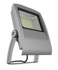 50W pilkas LED prožektorius V-TAC su aliuminio lydinio korpusu